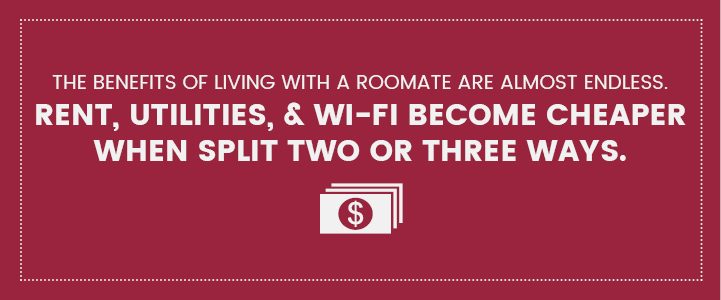 Apartment roommate benefits in Harrisburg, PA | Property Management, Inc.