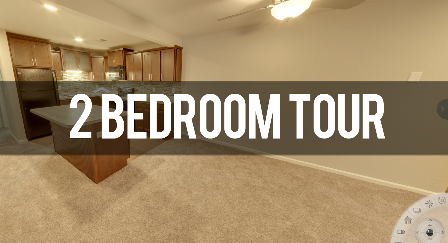 Virtual Tour of 2 Bedroom Apartment at Alpine Slopes