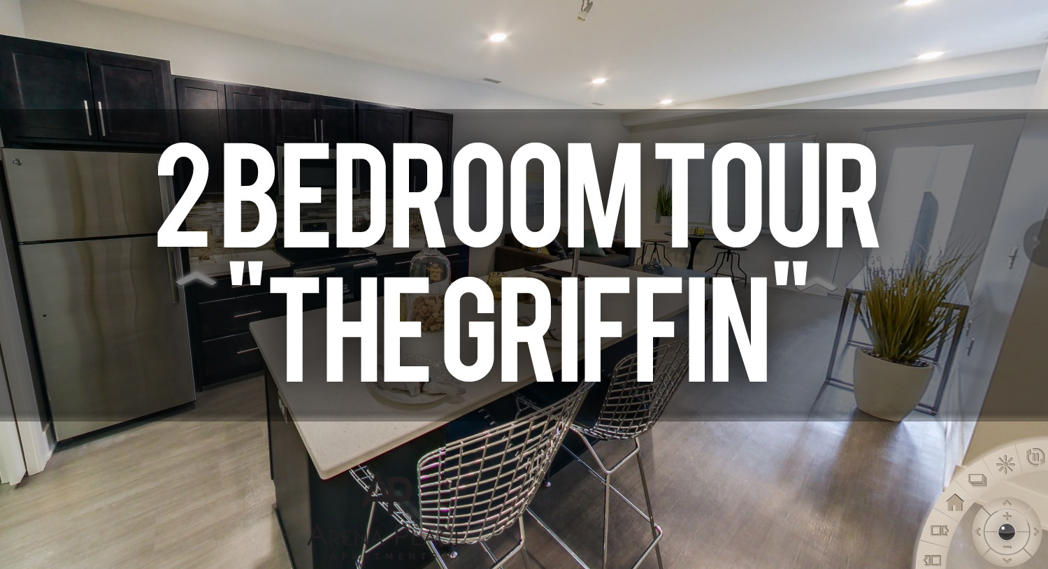Virtual Tour of Griffin Floorplan at Arena Place Apartments