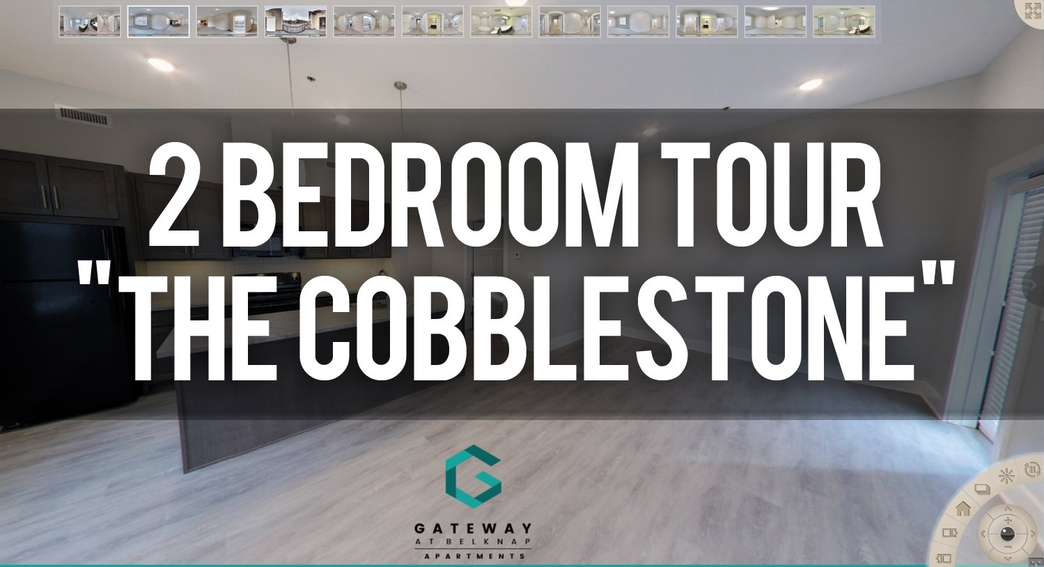 Virtual Tour of the Cobblestone Floorplan at Gateway at Belknap Apartments