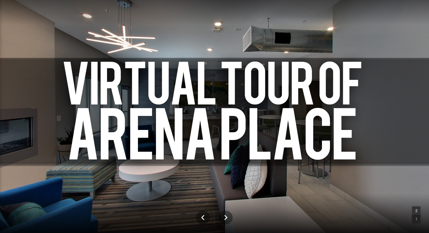 Tour Arena Place Apartments in Grand Rapids