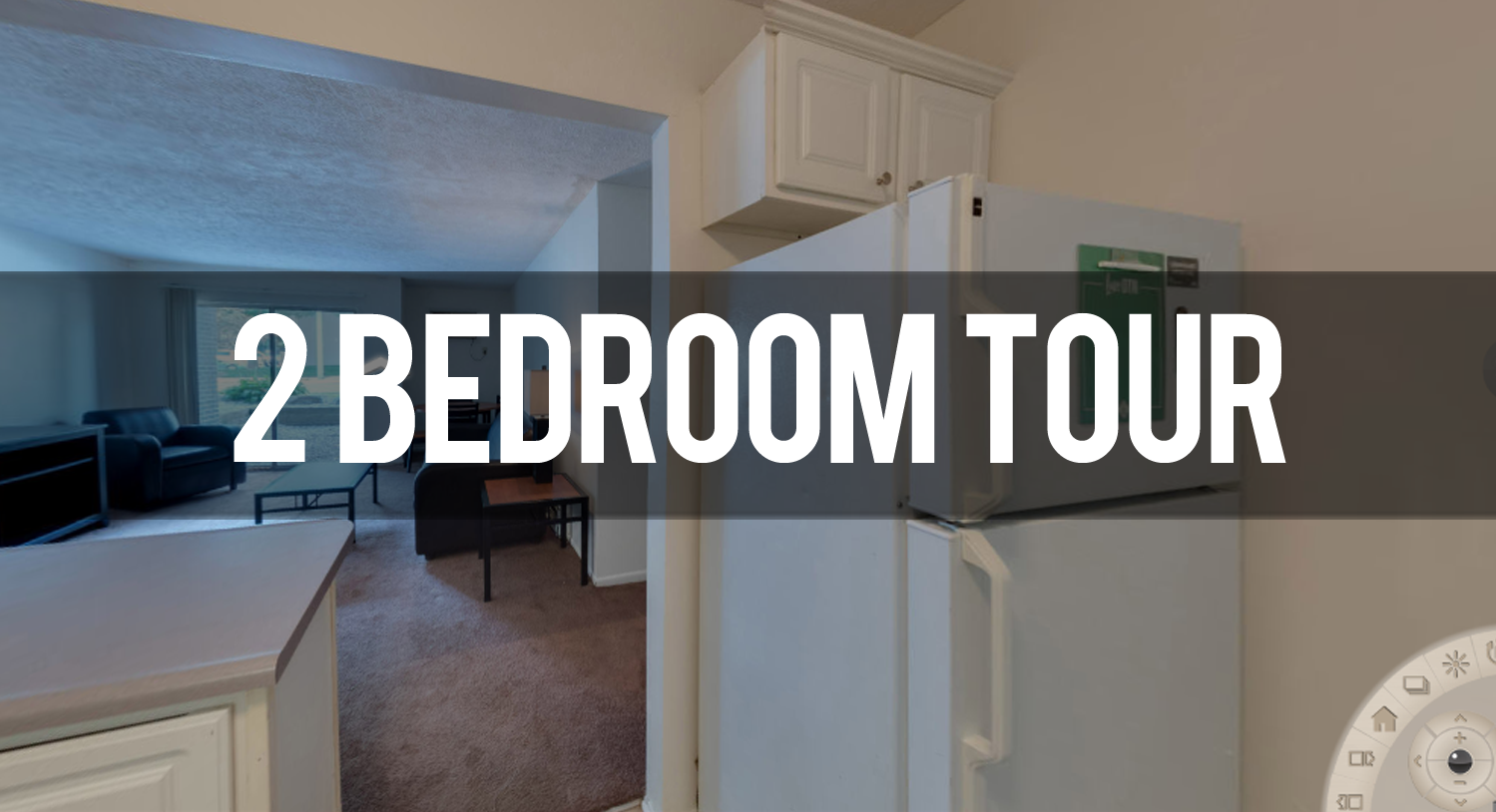 2 Bedroom Virtual Tour Waters Edge Apartments in East Lansing | Michigan State University Apartments
