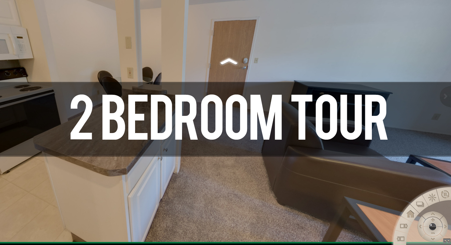 Take a Virtual Tour of 2 Bedroom at Delta Arms