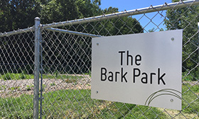 Dog Park at Apartments in Spring Lake