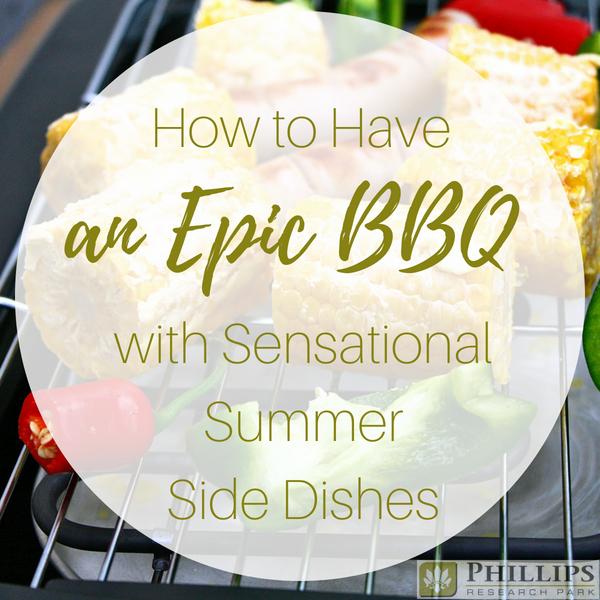 summer recipe blog header image