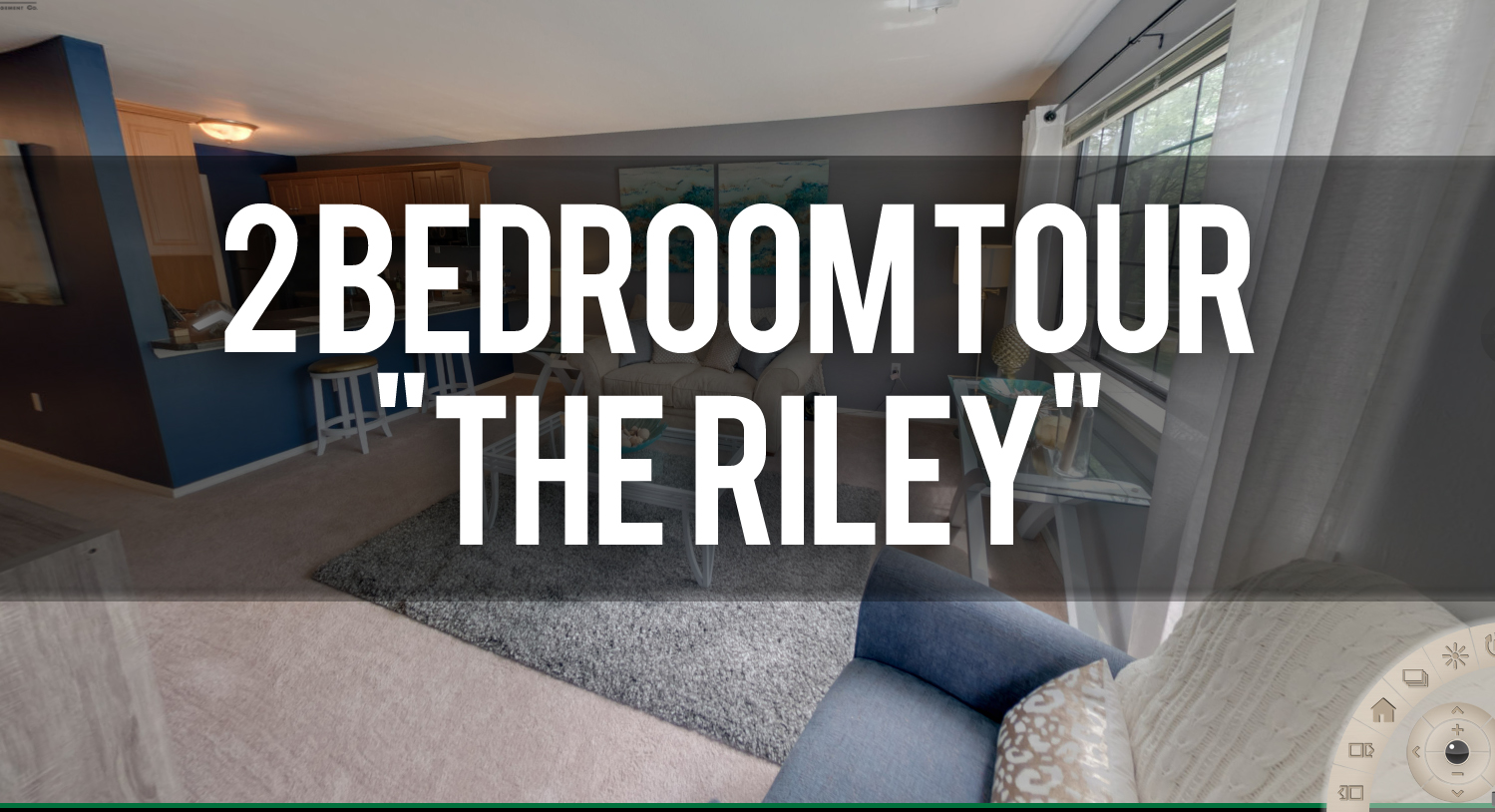 Virtual Tour of The Riley 2 Bedroom Floorplan at Arbor Glen Apartments