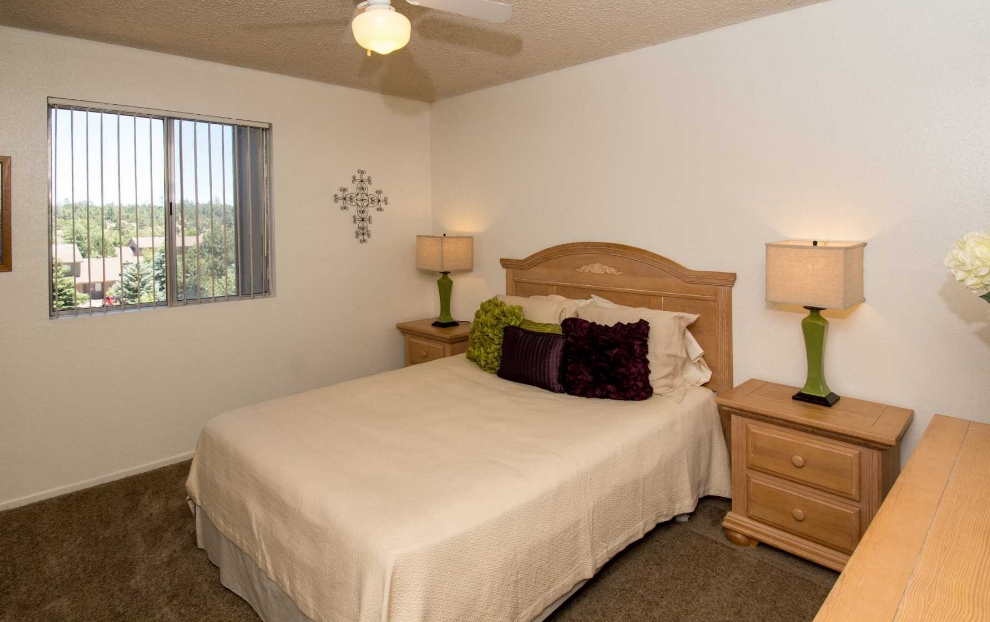 Country Club Terrace Bedroom