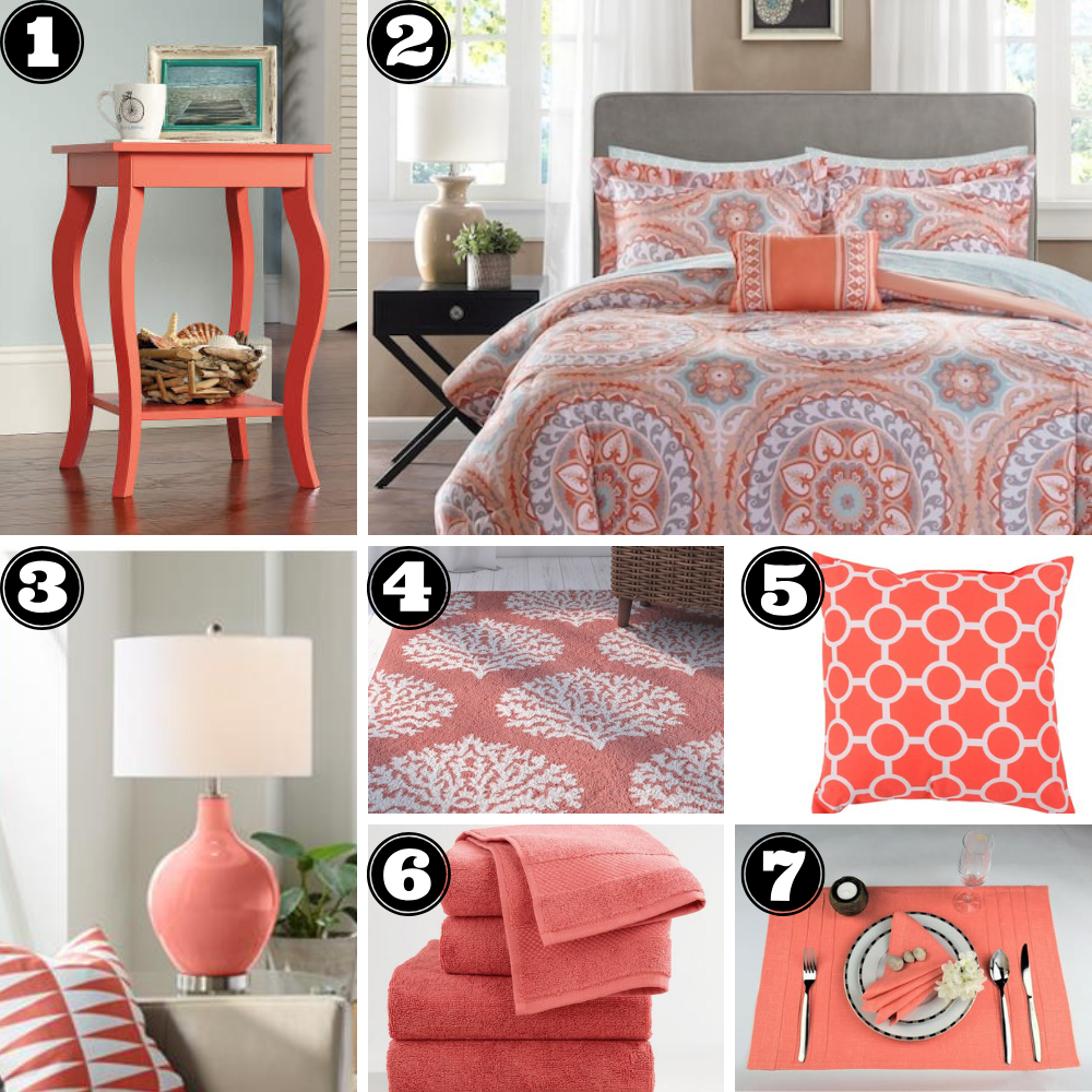 Apartment Home Design Ideas with Living Coral