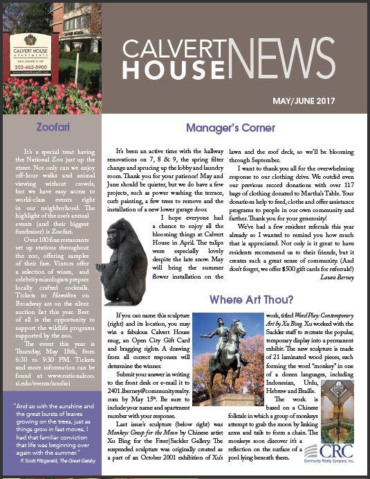 May/June 2017 Newsletter