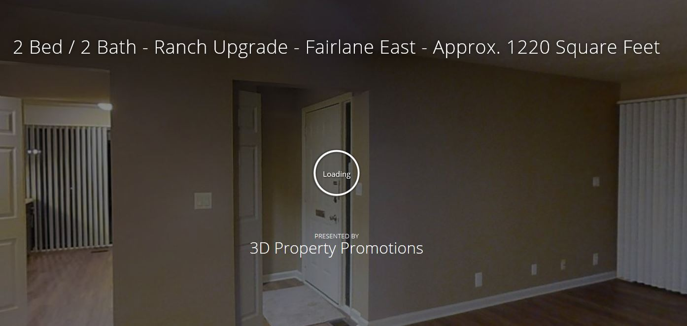 3D Tour of Fairlane East Apartments in Dearborn, MI