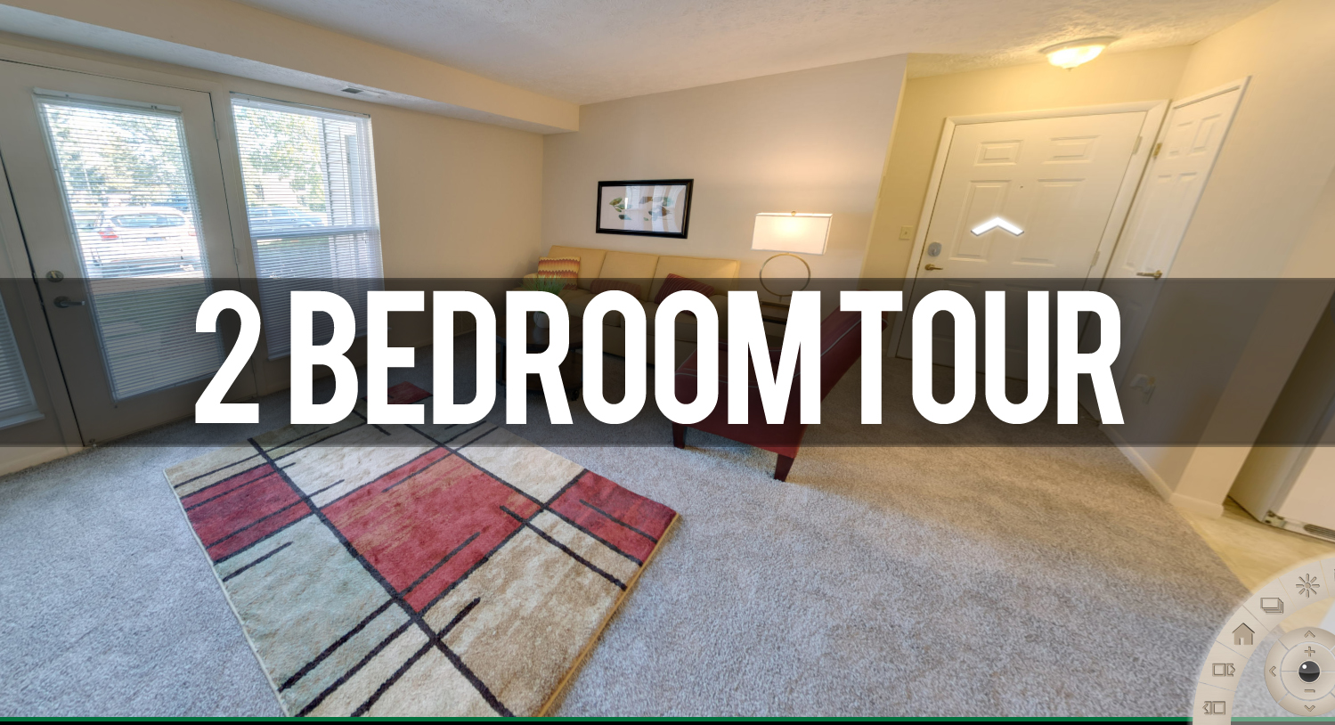Virtual Tour of 2 Bedroom at Pine Lane Estates Apartments