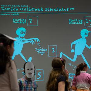 New York Hall of Science Zombies Exhibit