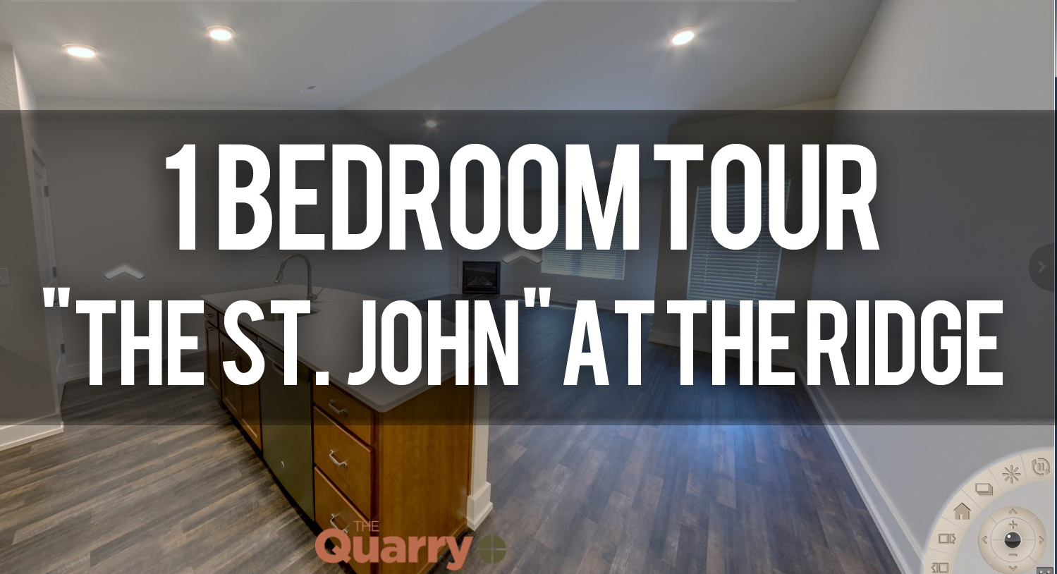 Virtual Tour of St. John Floorplan at Quarry Apartments