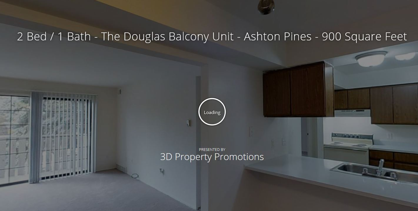 3D Tour of Douglas with Balcony