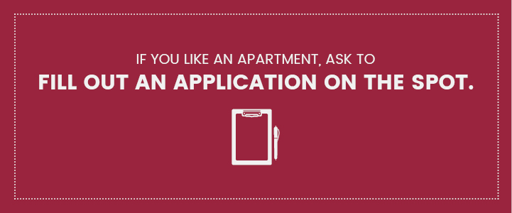Fill out apartment application in Harrisburg, PA | Property Management, Inc.