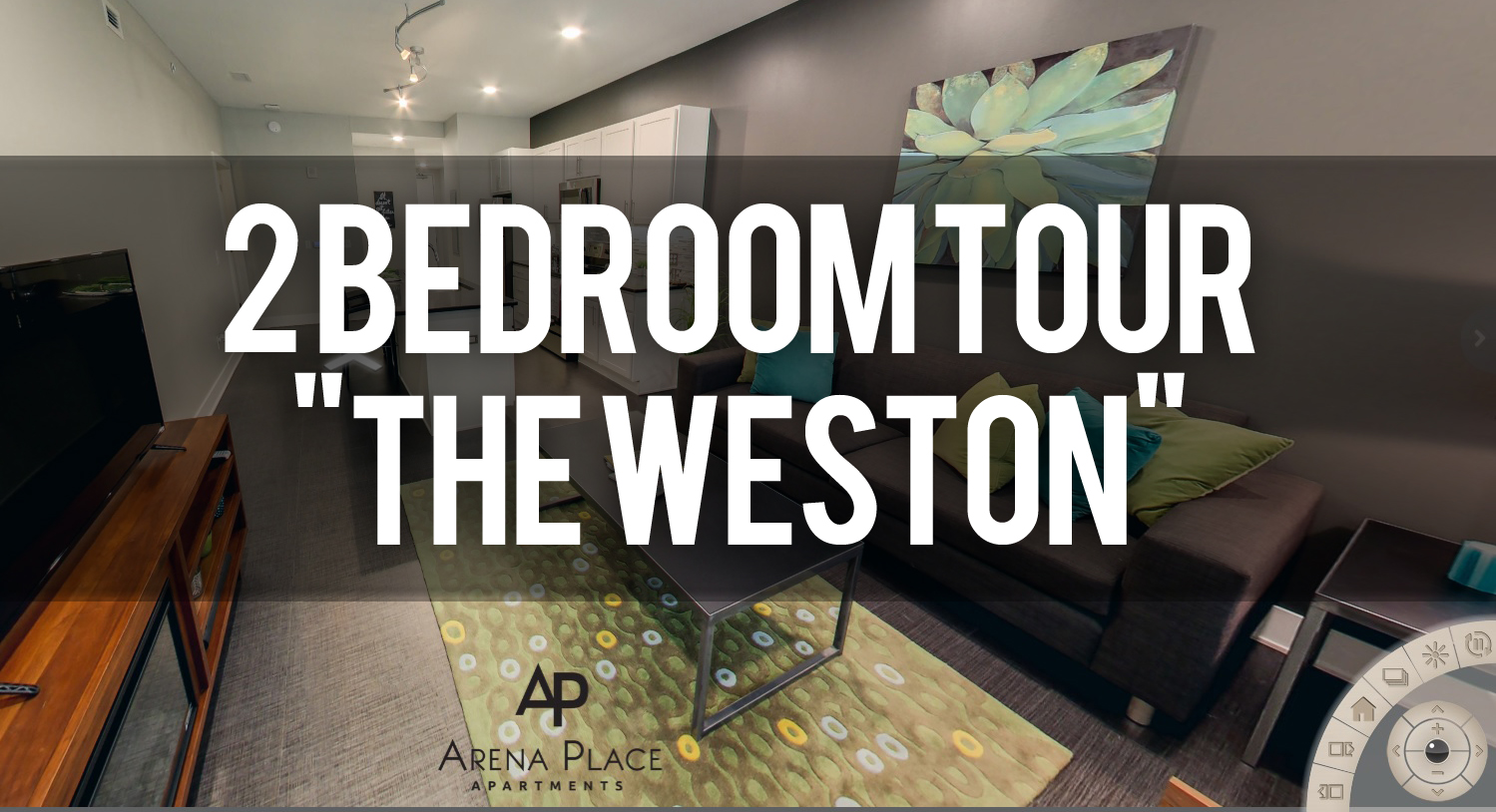 Virtual Tour of the Weston Floorplan Arena Place Apartments