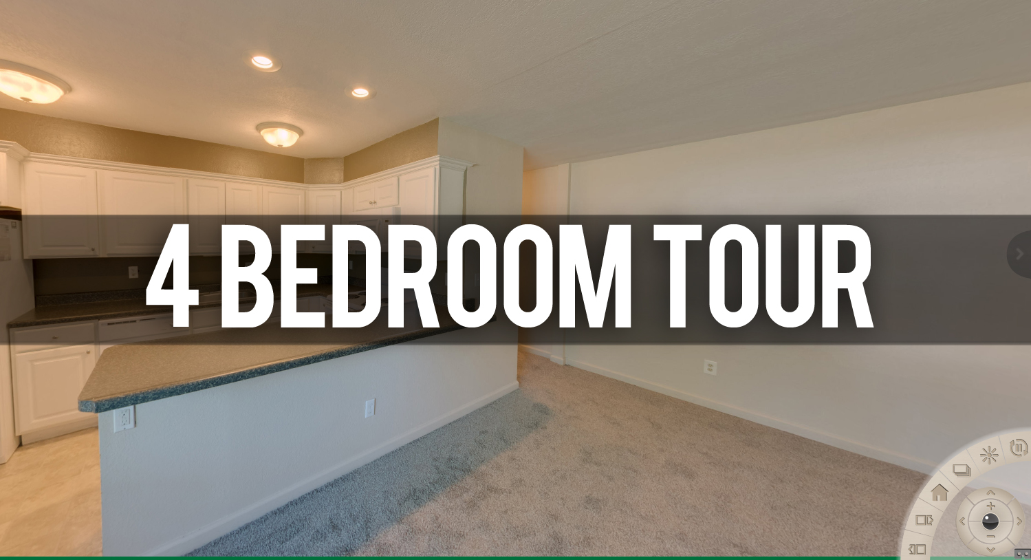 4 Bedroom Tour at Glenwood Apartments in East Lansing, MI