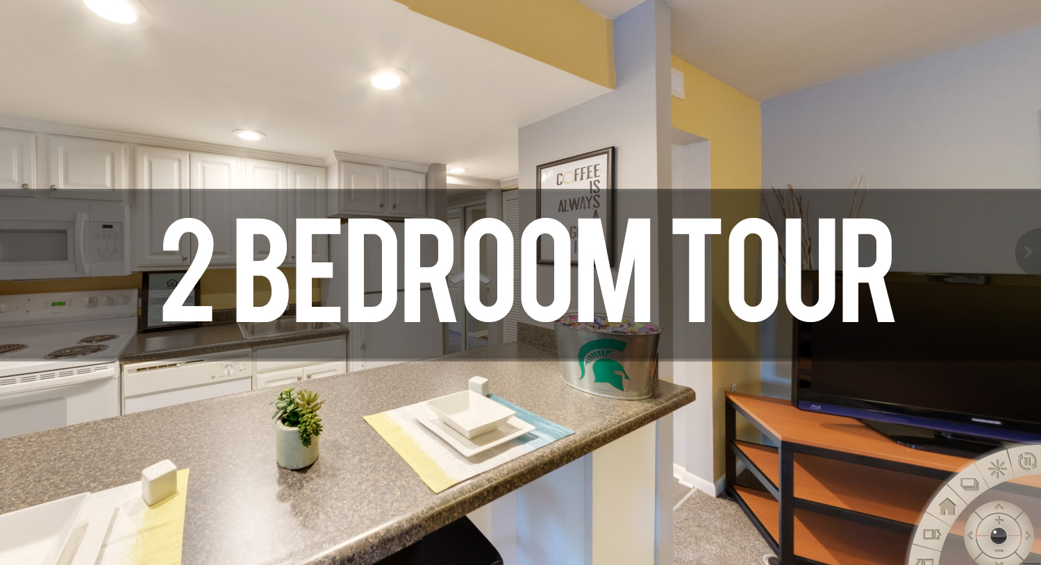 Virtual Tour of Campus Hill Apartments near Michigan State University