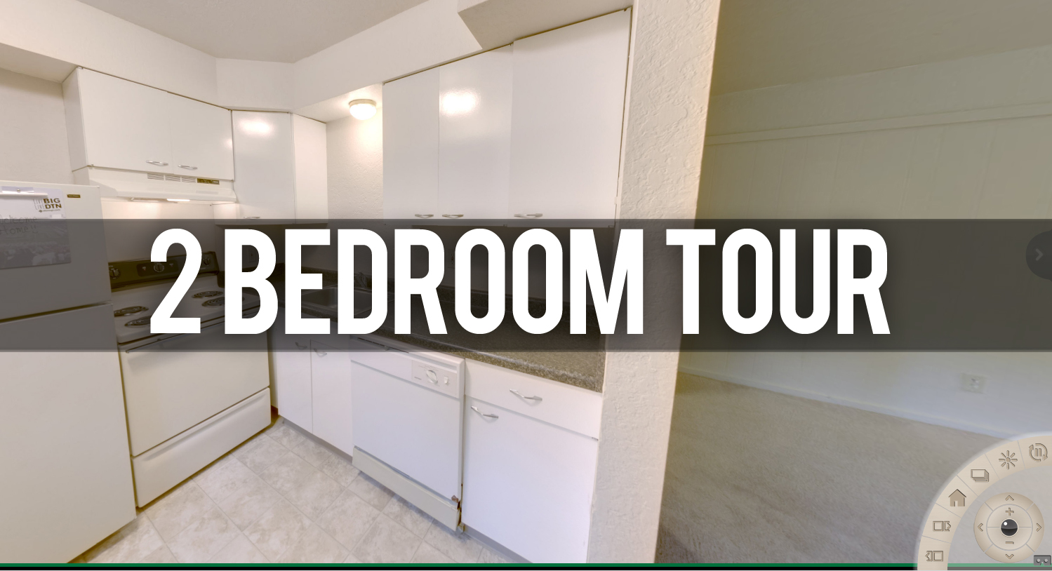 2 Bedroom Virtual Tour Glenwood Apartments in East Lansing, MI