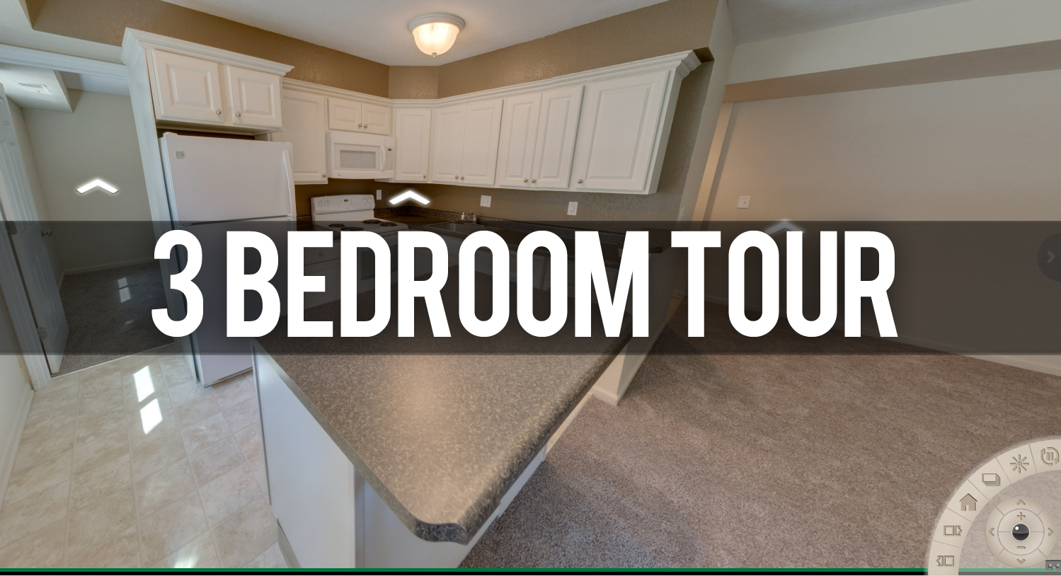 3 Bedroom Tour at Glenwood Apartments in East Lansing, MI