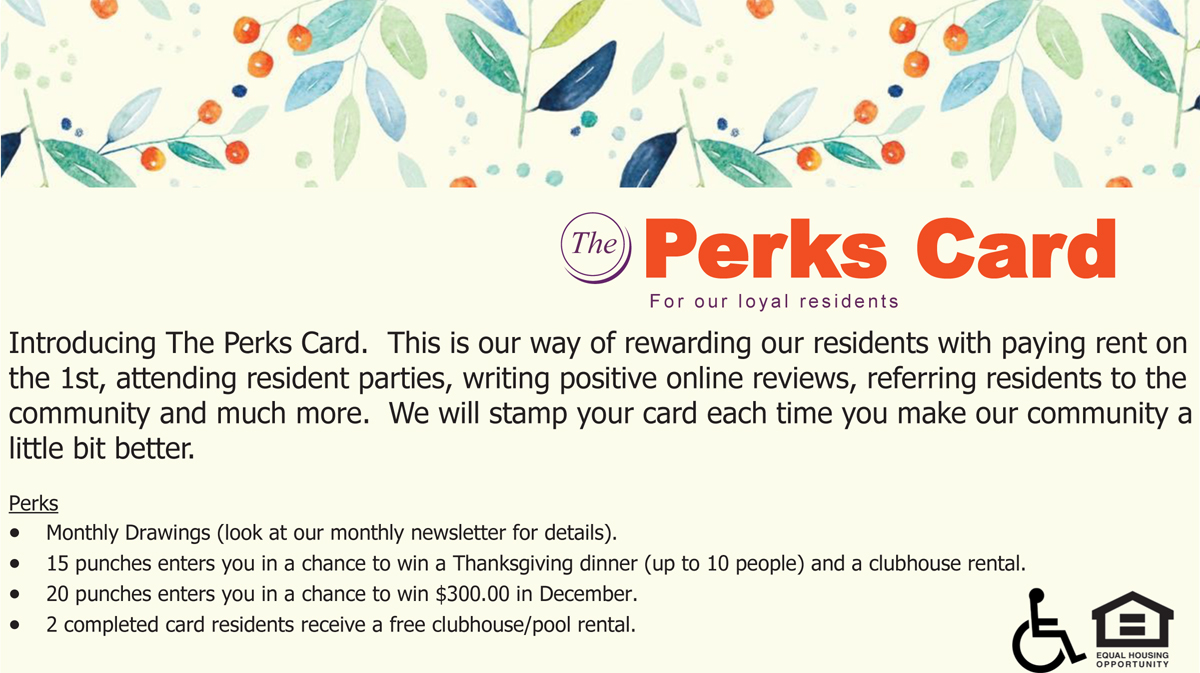 The Perks Card