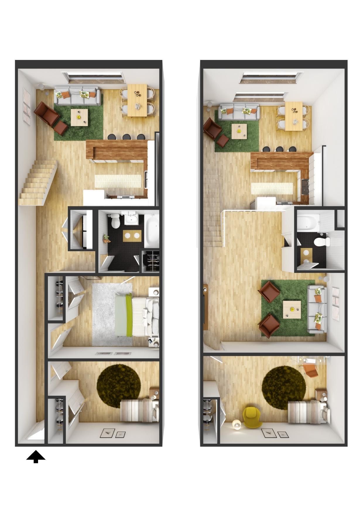 Lofts at merce Apartments in Richmond VA