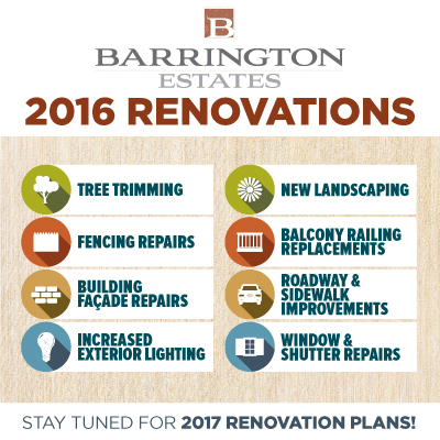 Barrington Estates Apartments Indianapolis 2016 Renovations Overview