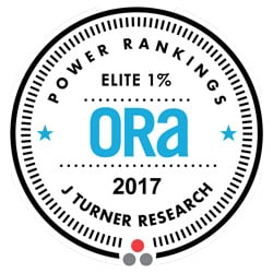 J Turner Research – 2015 ORA Power Rankings Elite Top 1 percent
