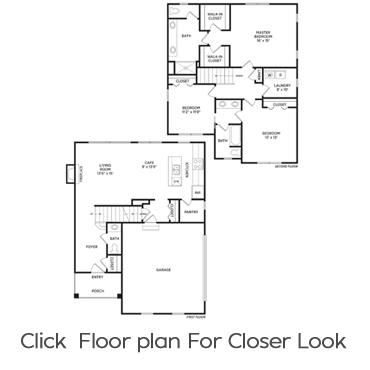 Tucker Floorplan Homes for Rent in Holt, Michigan