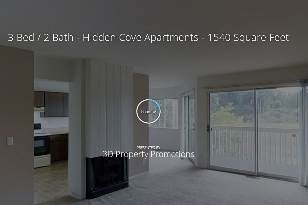 3D Tour of Hidden Cove 3 Bedroom Floorplan