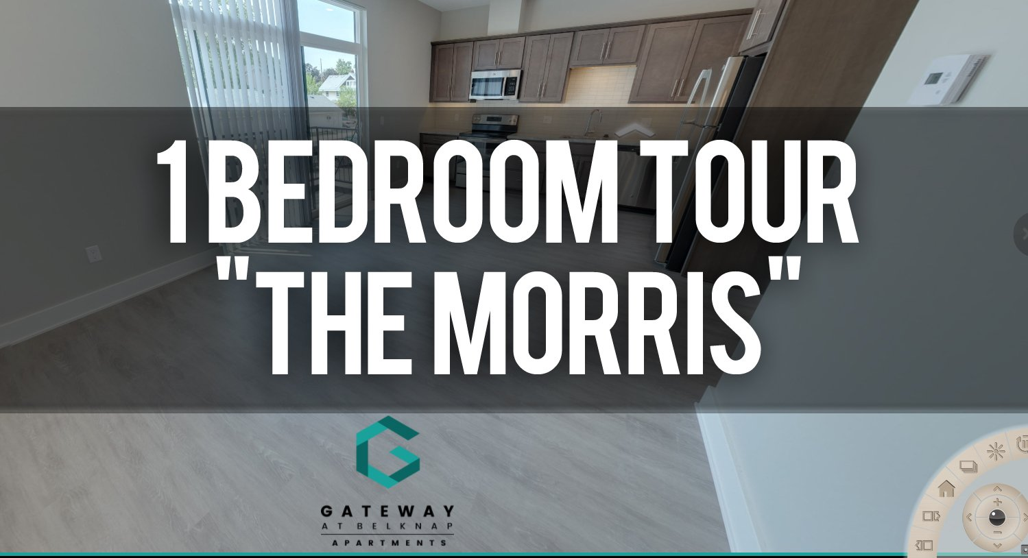 Virtual Tour of The Morris Floorplan at Gateway ate Belknap Apartments
