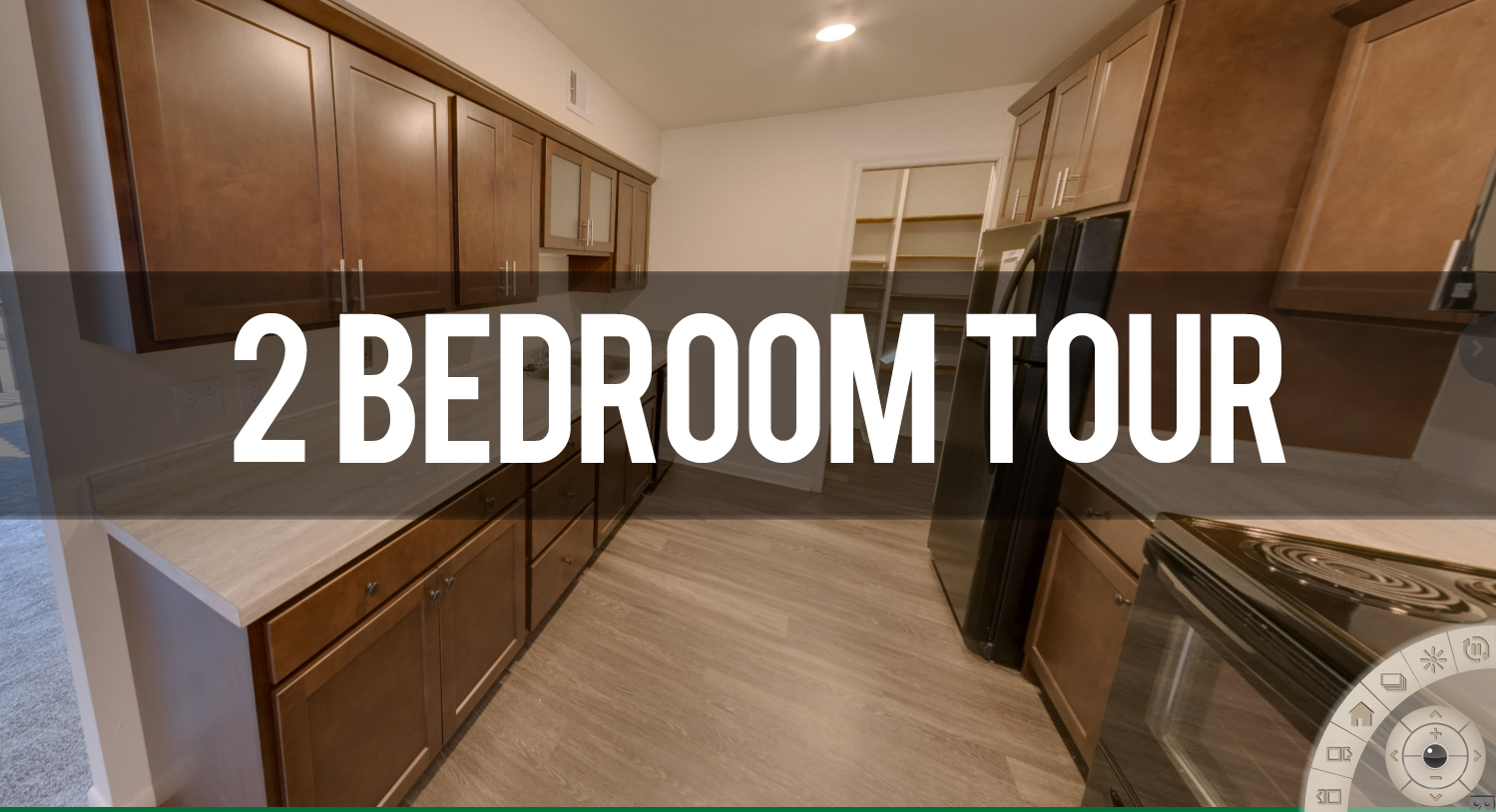 Virtual Tour of Carriage Hill Apartments Marquette floor plan