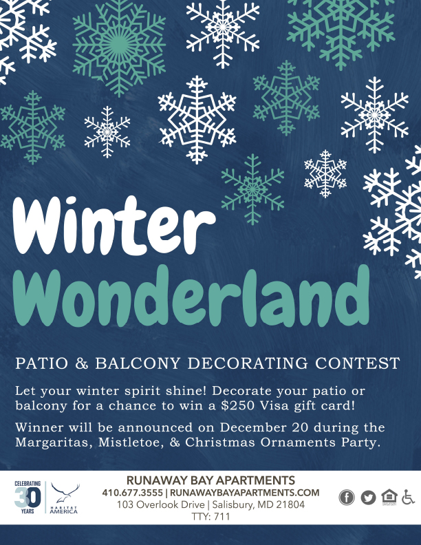 Patio and Balcony Decorating Contest- Enter to for a chance to win a $250 Visa Gift Card!
