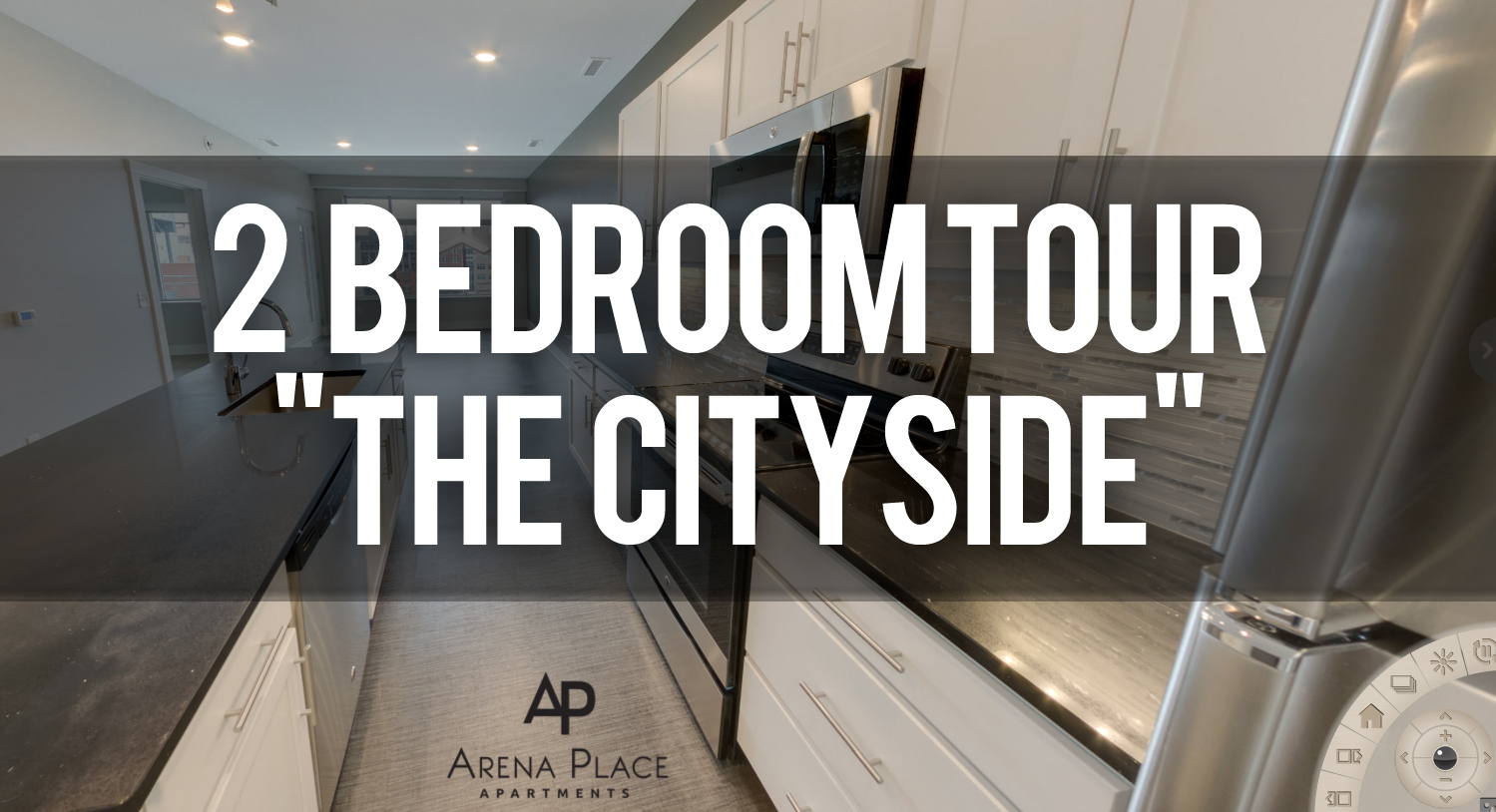 Virtual Tour of Cityside Floorplan at Arena Place Apartments