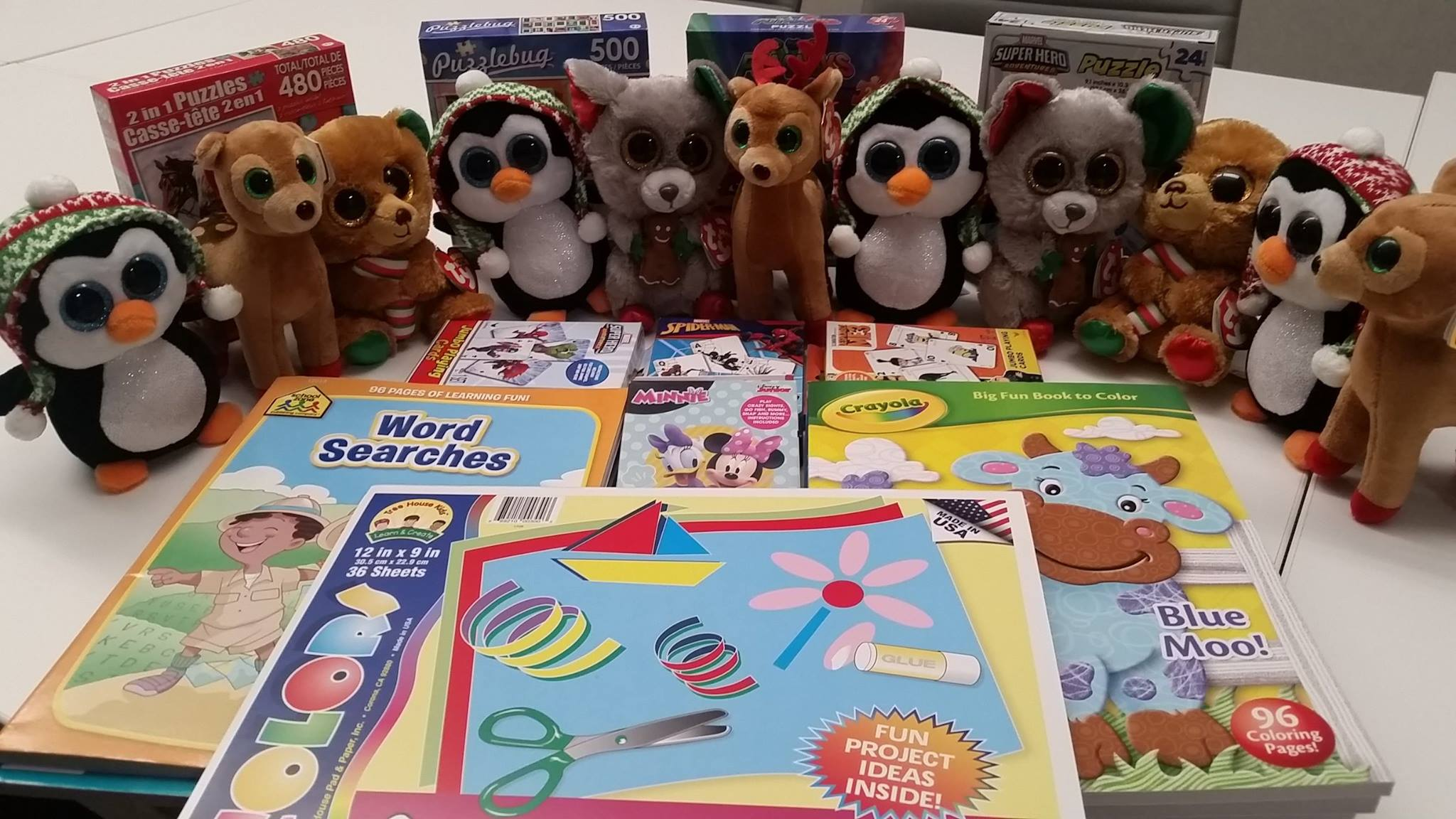 Ronald McDonald House Donation of Books and Stuffed Animals