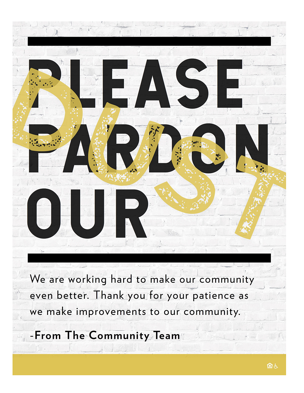 Pardon our dust as we work to make the community even better.