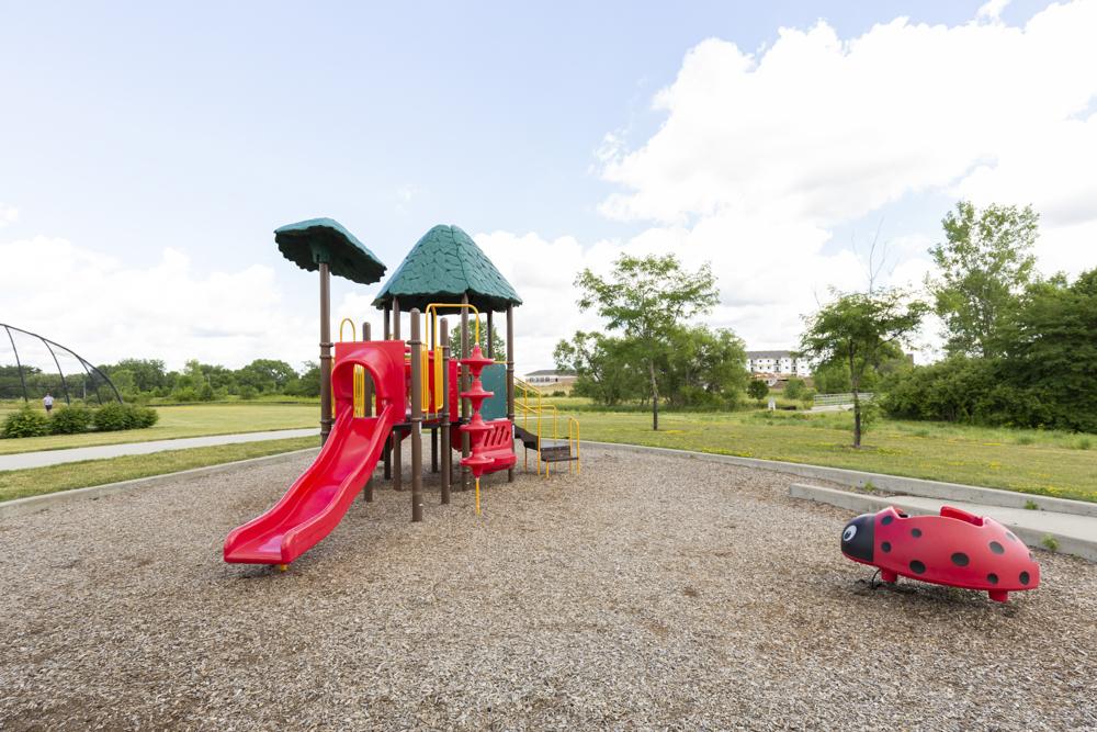 Park next to 360 at Jordan West apartments near Jordan Creek mall in West Des Moines IA