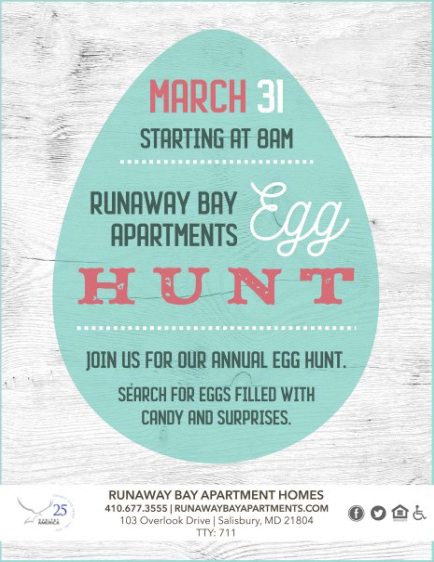 Runaway Bay Egg Hunt 2018