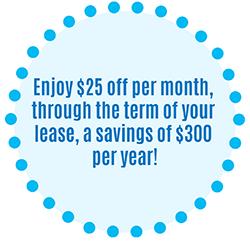 Preferred Employer Program - $25 off per month