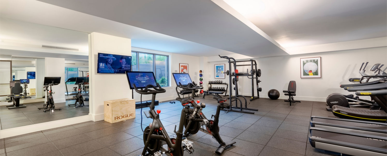 washington dc apartments with fitness center