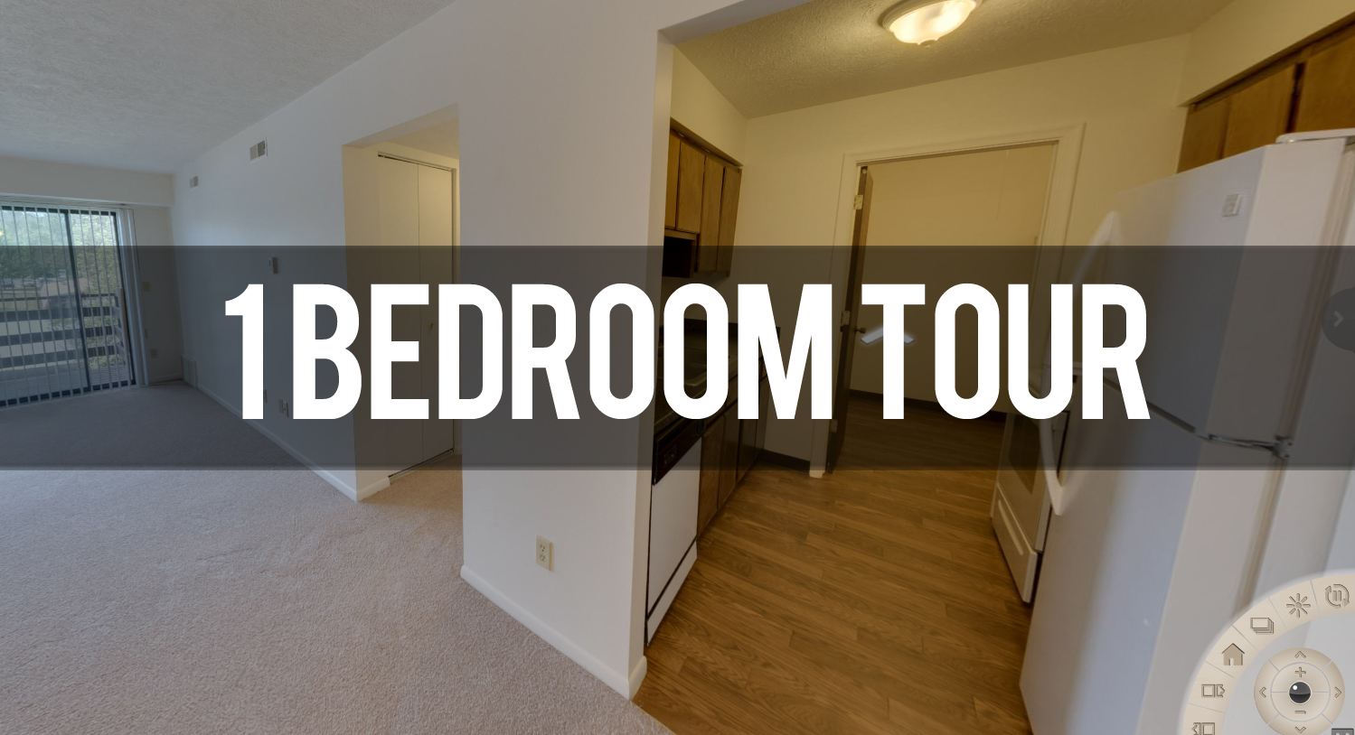 Virtual Tour of 1 Bedroom Apartment at Delta Square Apartments