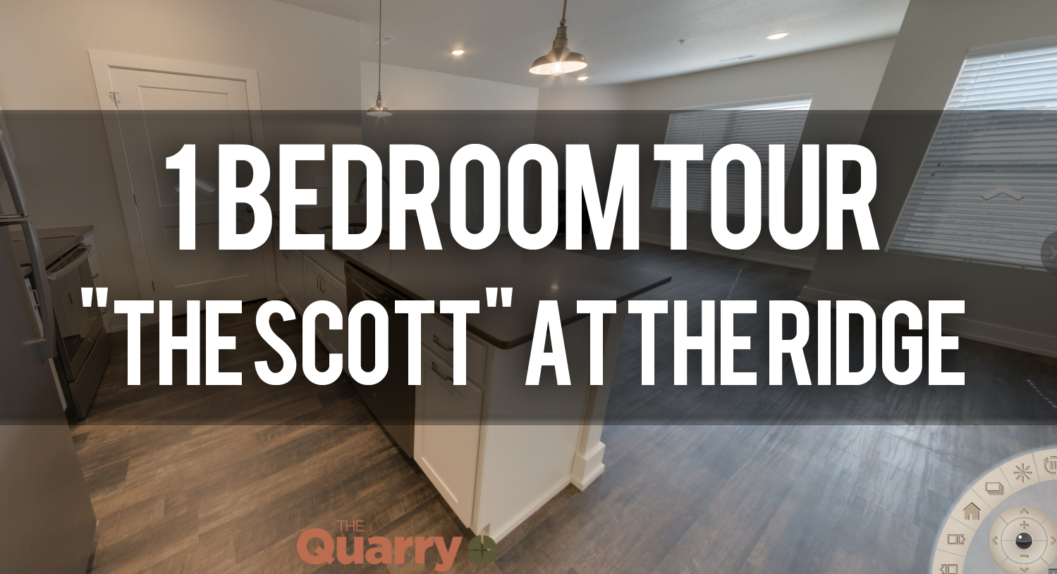 Virtual Tour of The Scott Floorplan at Quarry Apartments