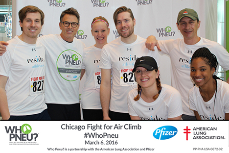 Fight For Air Climb Team Reside Living