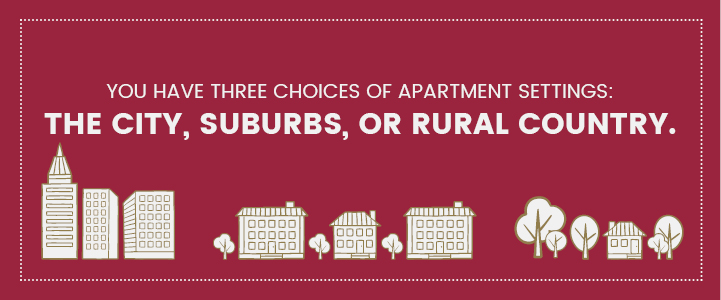Apartment settings and options in Harrisburg, PA | Property Management, Inc.