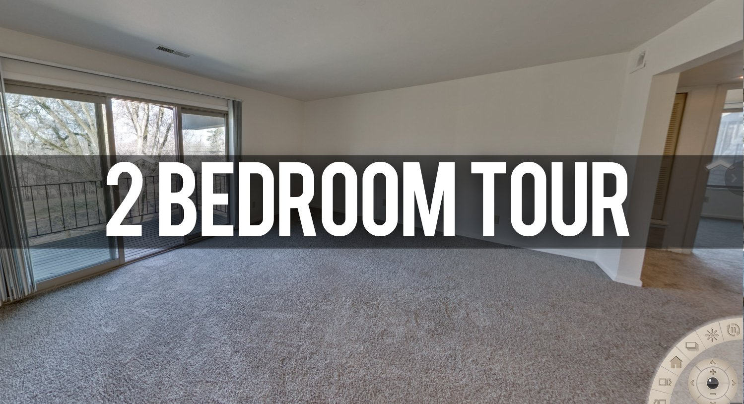 The Pines Apartments in East Lansing 2 Bedroom Virtual Tour