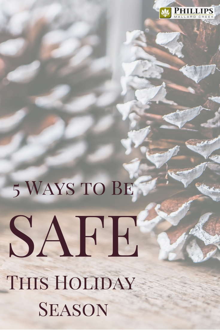 5 Ways to be Safe This Holiday Season | Phillips Mallard Creek