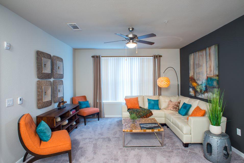 Gramercy on the Park Living Room