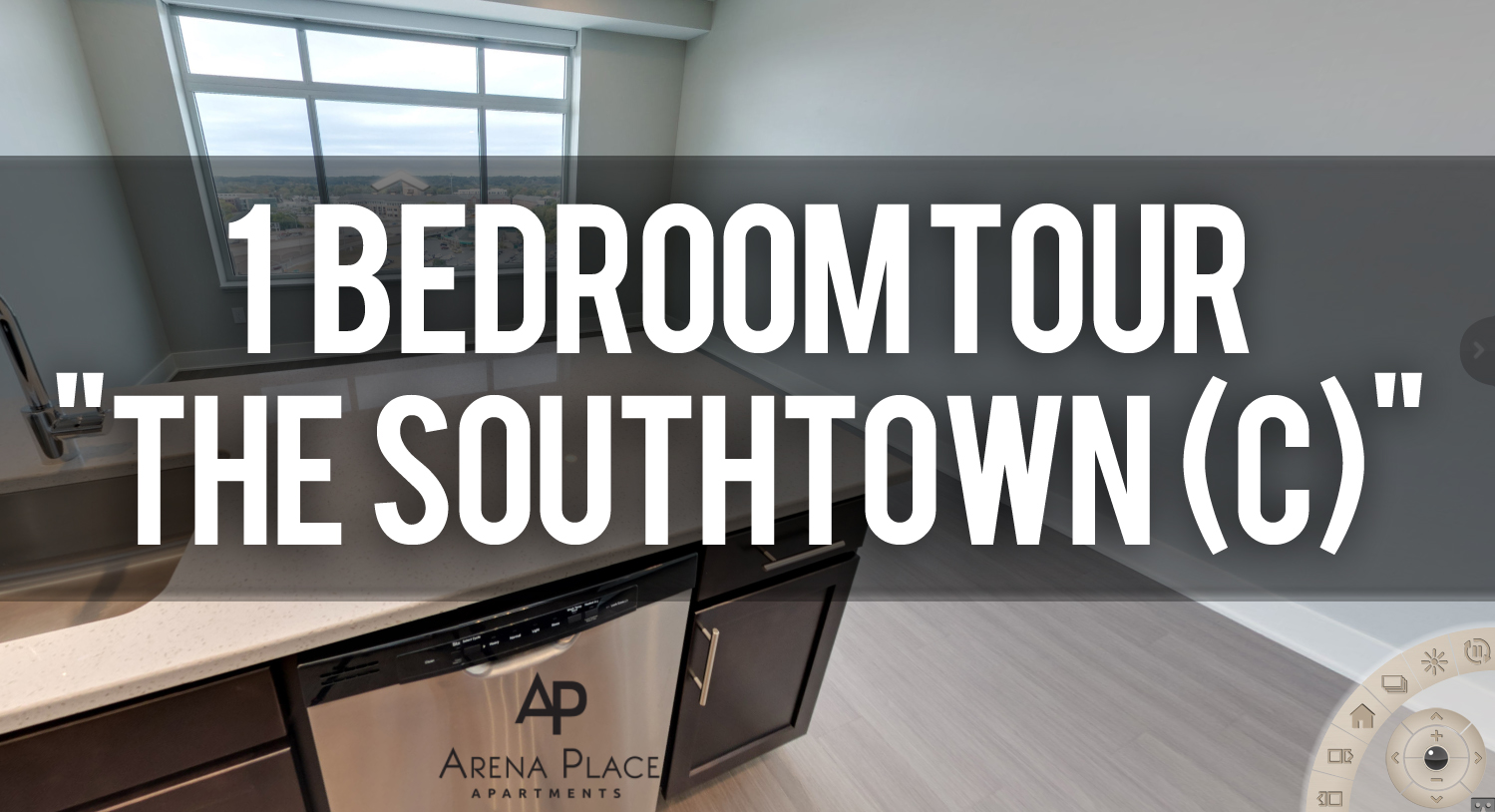 Virtual Tour of Southtown Floorplan at Arena Place Apartments