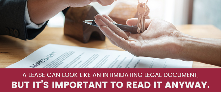 Important to read lease in Harrisburg, PA | Property Management, Inc.
