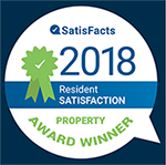 2018 Resident Satisfaction Award Winner